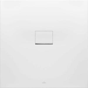 Villeroy & Boch Duschwanne Squaro Infinity 90 × 90 × 4 cm Quaryl® zuschneidbar