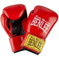 BENLEE Rocky Marciano Fighter Boxhandschuhe, Red/Black, 18