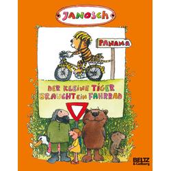 Der kleine Tiger braucht ein Fahrrad als Buch von Janosch