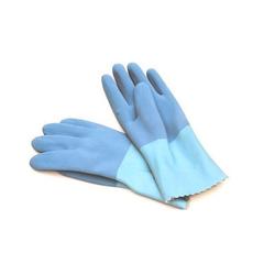 Hufa Fliesenleger Naturlatex Handschuhe paar blau L