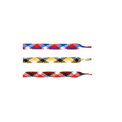 Schnürsenkel Sidelines Baumwolle farbig