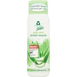 Frosch Senses Aloe Vera sanftes Duschgel für empfindliche Oberhaut ECO 300 ml