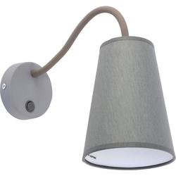 Licht-Erlebnisse Wandleuchte BANTA Moderne Wandlampe mit Schalter flexibel stylisch Leselampe Lampe