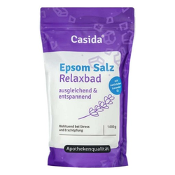 EPSOM Salz Relaxbad mit Lavendel 1 kg