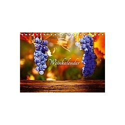 Weinkalender (Tischkalender 2021 DIN A5 quer) - Kalender