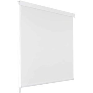 vidaXL Duschrollo 100x240cm Weiß Duschvorhang Dusche Rollo Badewannenvorhang