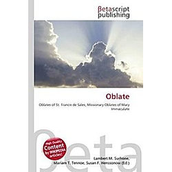 Oblate - Buch