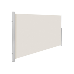 tectake Seitenarmmarkise Aluminium Seitenmarkise natur 180.0 cm