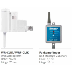 Funk Regensensoren, WR-CLIK,Wireless Set