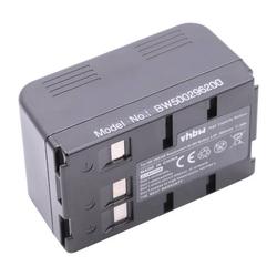 vhbw NiMH Akku 3600mAh (4.8V) für Kamera Camcorder Video Blaupunkt ST-634 wie VW-VBS10, VW-VBS20, VW-VBS40.