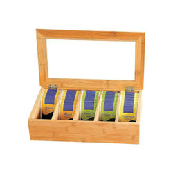 Kesper Trinkflasche Bambusholz Tee-Box