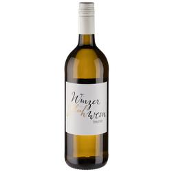 Weißer Winzerglühwein Weinfreunde - Schlossgartenhof - Deutscher Weißwein