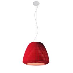 Designer-Hängeleuchte Bell ø 60 cm Axo Light - Rot