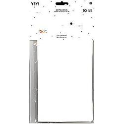 Blockbodenbeutel Kraftpapier Weiß, Größe L