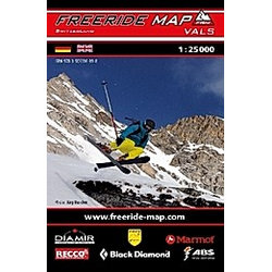 Freeride Map Vals - Buch