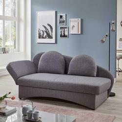 Sofabett in Grau Bettkasten