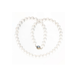 Bella Carina Perlenkette Bergkristall 8 mm, mit Bergkristall 42