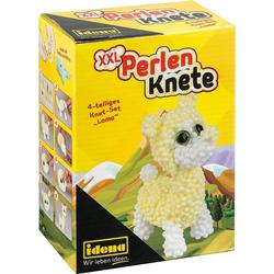 Idena Knete Perlen-Knete Lama, 4-tlg.