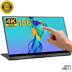 """UPERFECT 15.6"""" Portable Gaming Monitor Touch 4K IPS Display For PS3 PS4 XBOX DE"""