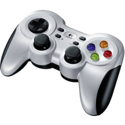 Logitech Gaming F710 Wireless Controller Gamepad PC Silber