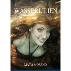 Wasserlilien als Buch von Maya Moreno