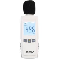 GEV Dezibelmesser 1299, zur Lärmmessung weiß