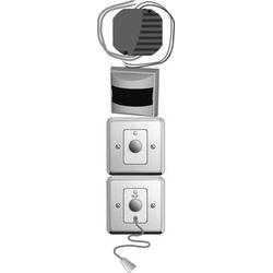 Elso Behinderten-WC-Set Edelstahl 7401211
