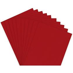 Fotokarton, rot, 21 x 29,7 cm, 50 Blatt