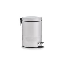 HTI-Living Kosmetikeimer Kosmetikeimer 3 Liter, Metall grau