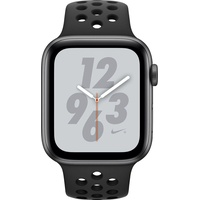 (GPS) 44mm Aluminuimgehäuse space grau mit Nike Sportarmband anthrazit / schwarz