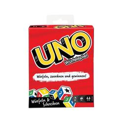 Mattel® Spiel, Mattel GKD66 - UNO - Würfelspiel