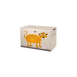 3 Sprouts Aufbewahrungsbox Aufbewahrungskiste Krokodil, 38 x 61 cm orange