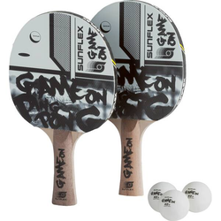 SUNFLEX Tischtennis-Set TT-SET GAME ON
