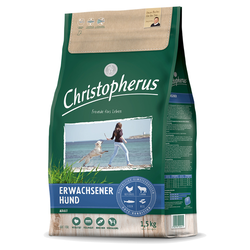 (5,79 EUR/kg) Allco Christopherus Erwachsener Hund mit Geflügel & Lamm 1,5 kg