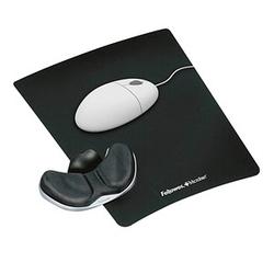 Fellowes Mousepad mit Handgelenkauflage schwarz
