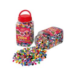 Hama Perlen Bügelperlen HAMA 8586 Dose rot mit 2.300 maxi-Perlen