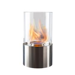 Dorre Laterne rund rostfrei bioethanol 28 cm
