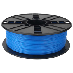 WhiteBOX 3D-Filament  PLA blau phosphoreszierend 1.75mm 1000g Spule