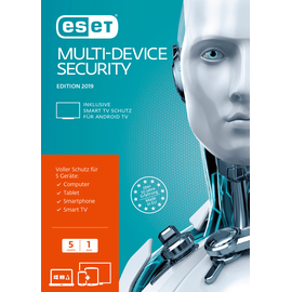Eset Multi-Device Security 2019 5 User ML Win Mac Android Lin