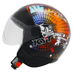 KYT Vodoo Mech Jet Helm, Größe L