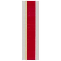 Farbsignal selbstklebend Kopfbreite: 9mm Kopfhoehe: 25mm VE=100 Stück rot