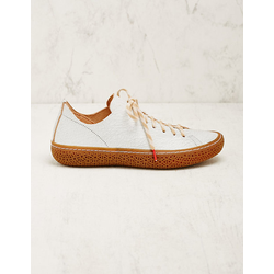 Think Damen Leder-Sneaker Liesel weiß