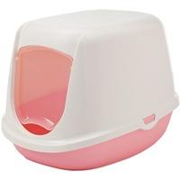 Nobby Katzentoilette DUCHESSE sweet pink-weiß