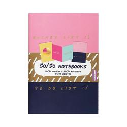 MAGS Notizbuch 3-tlg Set Notizbücher
