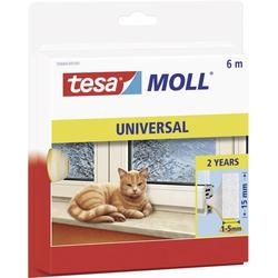 TESA 55604-100 55604-100 Dichtband tesamoll® Weiß (L x B) 6m x 15mm 6m