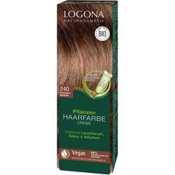LOGONA Haarfarbe Logona Pflanzen-Haarfarbe Creme braun