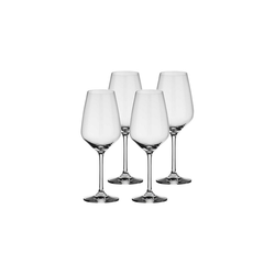 Villeroy & Boch Weißweinglas Voice Basic Glas Weißweinglas 4er Set (4-tlg)