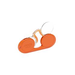 Apollo RETROCHIC OVALE ORAN OO Kunststoff Rund Orange/Orange +2.5 Fertiglesebrille; Lesebrille; Fertiglesehilfe; Lesehilfe
