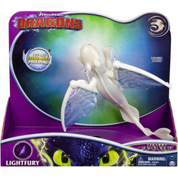 Dragons - Movie Line - Deluxe Dragons - Lightfury (Solid)