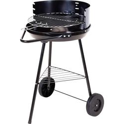 Rundgrill mit Rädern 40x70cm - Grill Standgrill Kohlegrill BBQ Holzkohlegrill
